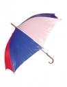 Parapluie bleu, blanc, rouge - France