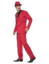Costume gangster années 30, rouge