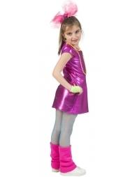 Robe Disco Fille rose - à partir du 4 ans