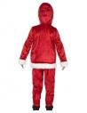 Déguisement enfant Père Noël (veste, gros ventre, pantalon, chapeau et barbe)