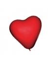 12 Ballons coeur rouge - 25 cm