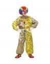 Déguisement Clown Multicolore (Combinaison)