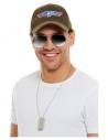 Kit Top gun © (casquette, lunettes et plaque d'identification)