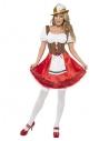Déguisement robe bavaroise femme (robe avec tablier intégré)
