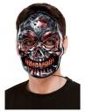 Masque de squelette, lumineux avec élastique élastique
