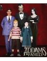 Déguisement de Morticia de la Famille Addams, Noir (robe et perruque)