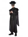 Déguisement Roi des corbeaux de luxe, Noir, Homme (Haut, cape, pantalon et coiffe)
