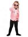 Blouson enfant Grease rose