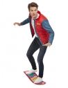 Déguisement Marty McFly Retour vers le Futur (Gilet, chemise fantaisie et hoverboard)