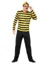 Costume Où est Charlie Licence Jaune et noir