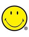 Grand drapeau Smiley, Jaune - Licence