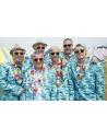 Costume Aloha (veste, pantalon, cravate)