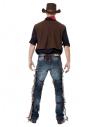Déguisement Cowboy Homme (gilet, jambières, chapeau et bandana)