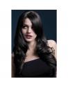 Perruque Fever Nicole sexy 66 cm, brune | Accessoires
