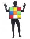 Déguisement Rubik's Cube Seconde Peau Adulte (combinaison avec cagoule)