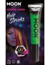 Moon Glow Intense Neon UV Hair Streaks, Green