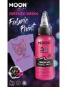 Peinture Tissu Rose Néon UV 3D 30 ml - Moon Glow