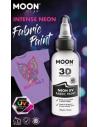 Peinture Tissu Blanc Néon UV 3D 30 ml - Moon Glow