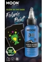 Peinture Tissu Bleu 3D Glow In The Dark 30 ml - Cosmic Moon