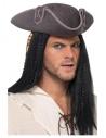 Chapeau tricorne adulte pirate