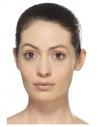 Kit Maquillage Autocollant Arlequin (Peinture visage, faux-cils, bijoux autocollants, applicateur)