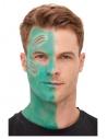 Kit de maquillage à l'eau Extra-terrestre vert (maquillage, adhésifs, prothèse, applicateur)