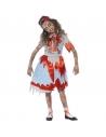 Déguisement zombie enfant country girl (robe et bandeau)| Déguisement Enfant