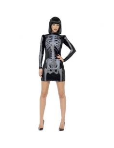 Déguisement robe squelette fever | Déguisement
