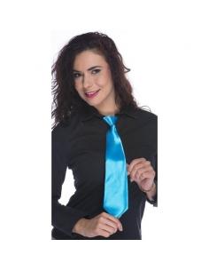 Cravate réglable bleu fluo | Accessoires