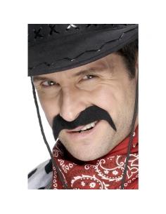 Moustaches cow-boy noires auto-adhésives | Accessoires