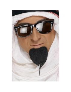 Bouc sultan noir auto-adhésif | Accessoires