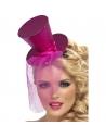 Serre-tête mini chapeau rose | Accessoires