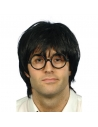 Perruque écolier avec lunettes | Accessoires