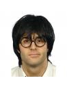 Perruque écolier avec lunettes   Accessoires