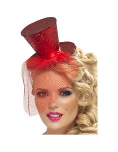 Serre-tête mini chapeau rouge | Accessoires