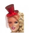 Serre-tête mini chapeau rouge   Accessoires