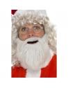 Barbe Père Noël peluche nacré | Accessoires
