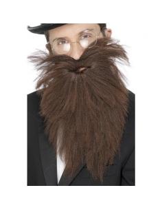 Barbe longue et moustaches marron | Accessoires
