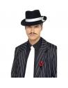 Cravate gangster blanche | Accessoires