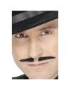 Moustaches latino noires auto-adhésives | Accessoires