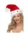 Bonnet Père Noël coeur lumineux | Accessoires
