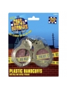 Menottes police plastique | Accessoires