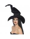 Chapeau sorcière noir velours | Accessoires