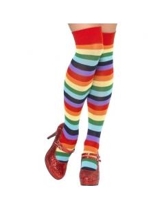 Chaussettes clown multicolores | Accessoires