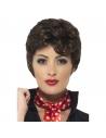 Perruque Rizzo brune   Accessoires