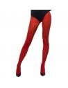 Collants opaques rouges | Accessoires