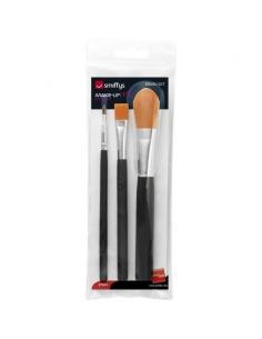 3 pinceaux à maquillage | Accessoires