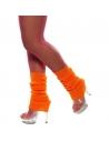 Chaussettes danse 80's fluo orange | Accessoires