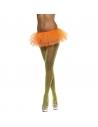 Tutu en résille 80's fluo orange | Accessoires