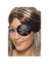 Bandeau pirate noir et argenté | Accessoires